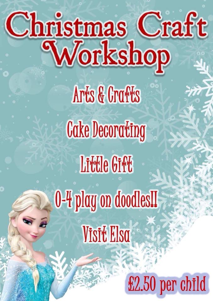 Christmas Craft Workshop At Canolfan Beaumaris