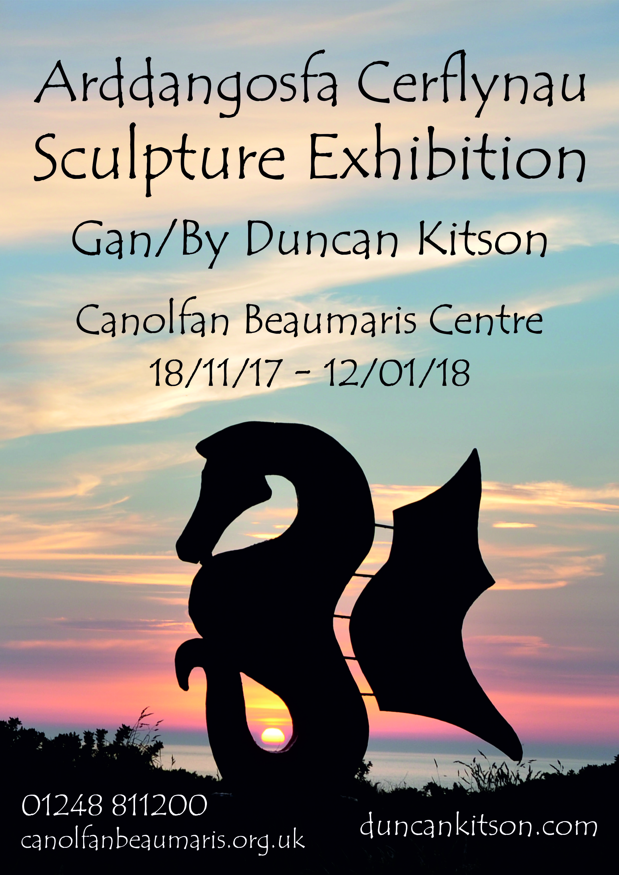 Sculpture Exhibition By Duncan Kitson