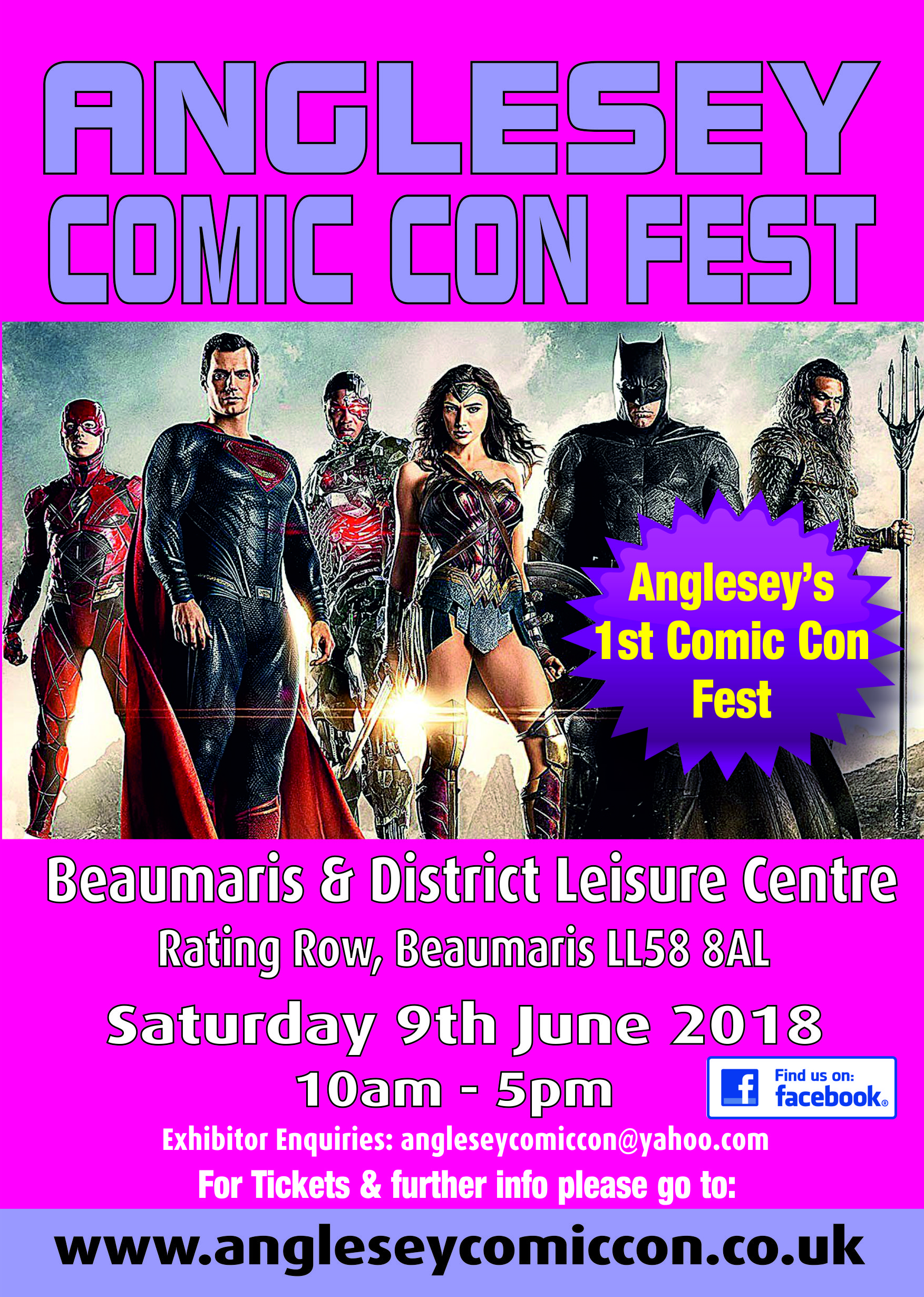Anglesey's Very First Premiere Comic Con Event