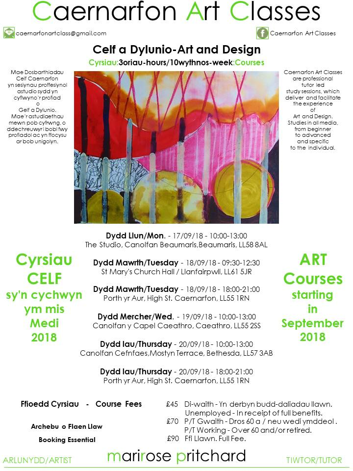 Caernarfon Art Classes