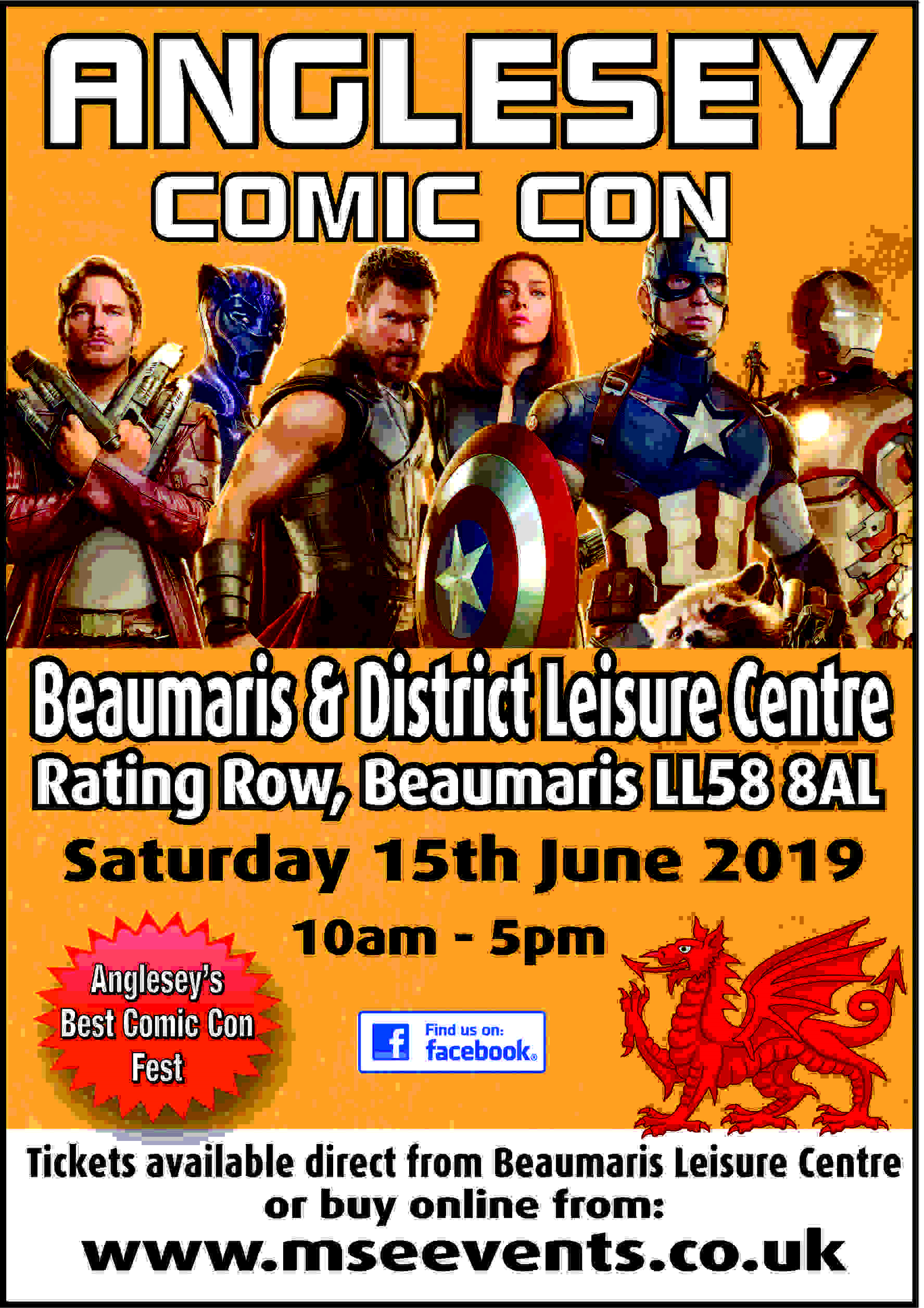 Anglesey Comic Con