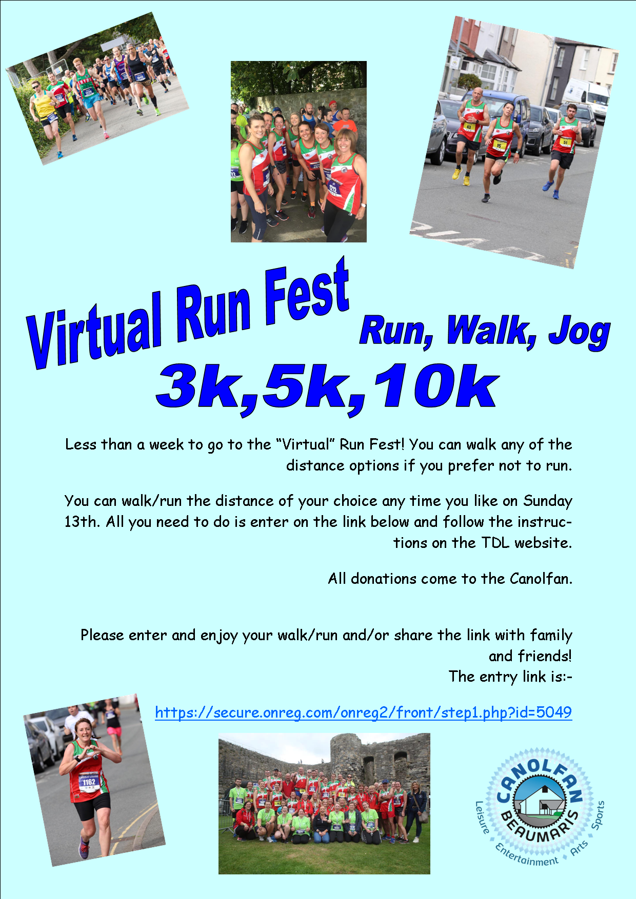 Virtual Run Fest 2020 Saes Poster